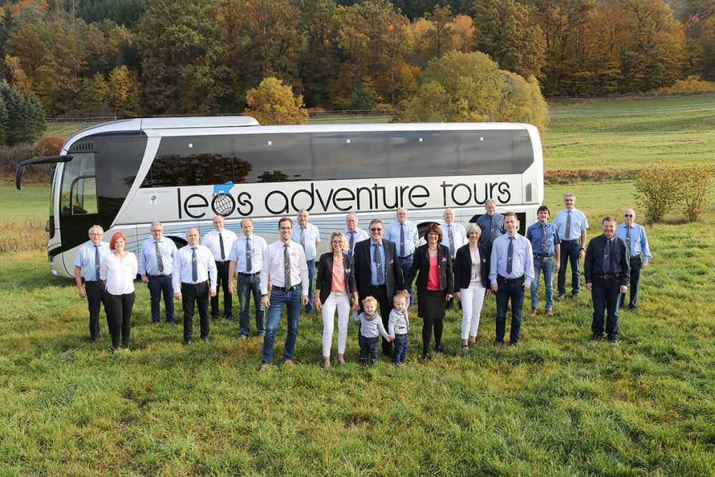 Leos Adventure Tours Mannschaft 2020